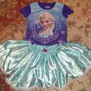 Disney Elisa frozen ballerina dress